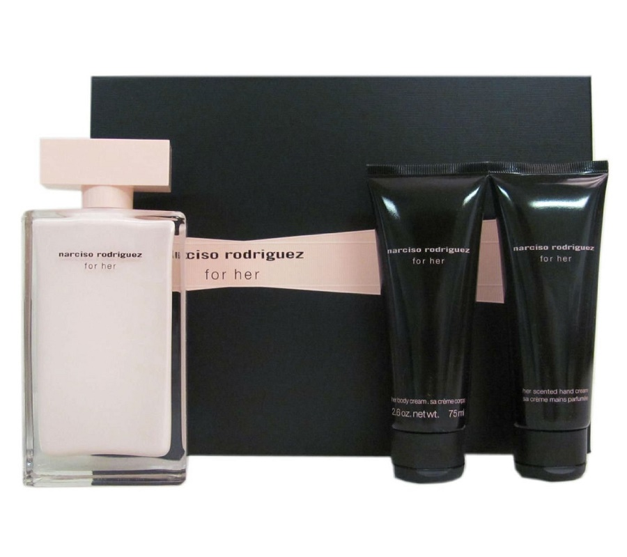 narciso rodriguez for her perfume gift set original perfume malaysia. Black Bedroom Furniture Sets. Home Design Ideas