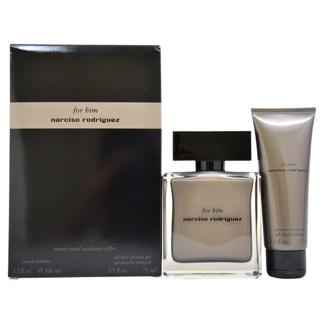 narciso rodriguez for him edp set perfume. Black Bedroom Furniture Sets. Home Design Ideas