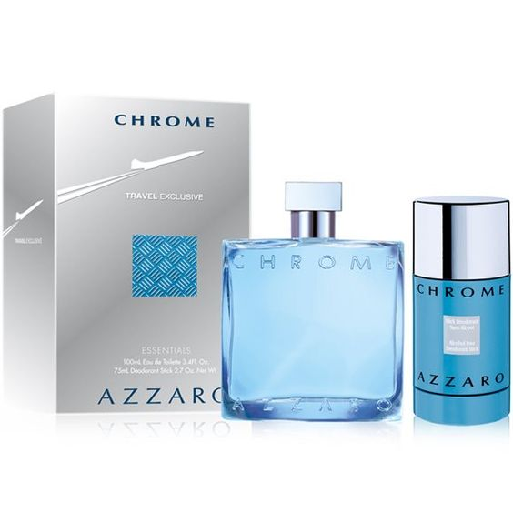 Azzaro chrome gift set lazada perfume for Chrome azzaro perfume