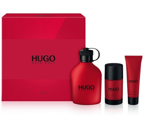 hugo red gift set