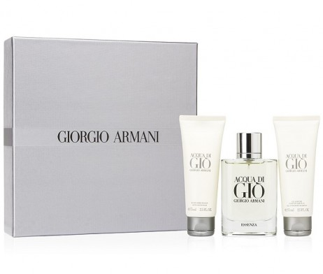 acqua gio essenza set