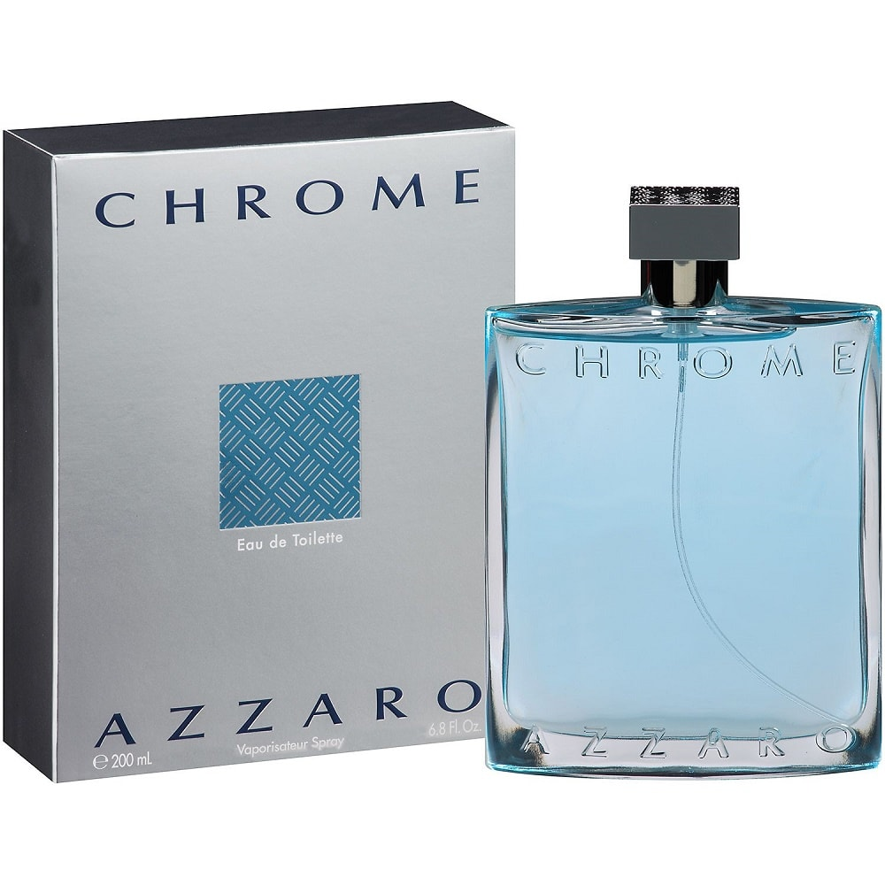 Azzaro chrome 200ml edt original perfume malaysia for Chrome azzaro perfume